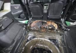 대구서 화재 난 코나 전기차, 작년 말 리콜 받은 차였다