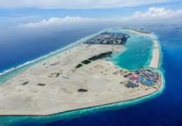 몰디브 산호위에 인공섬 만들었다···완공 땐 인구 44% 이주