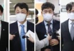 """'선거개입' 1년만 첫 재판···송철호 """"무리한 삼류정치 기소"""""""