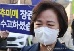 """추미애, 합수단 부활에 발끈···한동훈 """"본인만 잘못 모른다"""""""