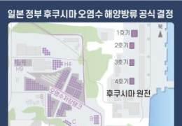 후쿠시마 원전수 방류 문제···정부, 일본과 협의 나선다