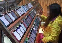 아이폰 470대 발견된 클릭 농장···'광루킹' 피해 2조7000억