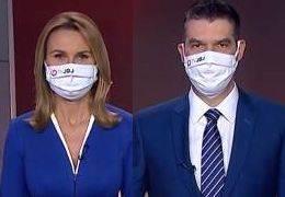 뉴스 앵커도 마스크 썼다···전세계 때늦은 마스크 열풍