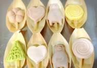 일본에서 판매되고 있는 녹지 않는 아이스크림