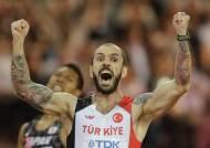 볼트 없던 레이스, '말 많고 탈 많았던' 세계선수권 육상 200m