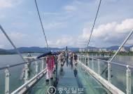[굿모닝 내셔널]'하늘 위를 걷는 듯' 국내 최장 '소양강 스카이워크' 인기 비결은