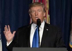 """트럼프식 개입주의…아프간엔 """"백지수표 없다"""", 인도엔 """"도와달라"""""""