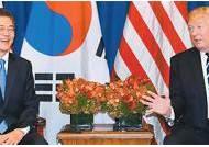 """트럼프 """"북한과 거래하면 미국과 못한다"""" 무역·금융 봉쇄 제재"""
