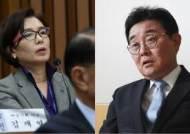 """여명숙, 국감서 전병헌 겨냥한 """"농단 세력"""" 발언 재조명"""