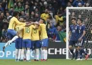 네이마르 페널티킥 선제골...브라질, 日과 평가전 3-1 승