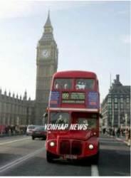 런던 명물 '빨강 2층 버스', 커피 찌꺼기로 달린다