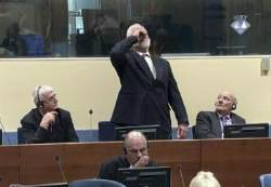 20년형 선고에 재판장서 독극물 마신 보스니아 전범 사망