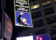 일베 회원, 美 타임스스퀘어에 '노무현 비하' 광고 게재 주장
