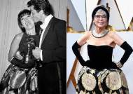 [서소문사진관]56년 전 드레스 입고 오스카 참석한 배우 화제