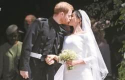 """'세기의 결혼식' 입술 읽어보니… 메건이 말했다 """"키스할까요?"""""""