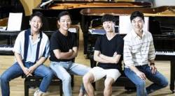 연주자도 넷, 피아노도 넷 … 젊은 피아니스트의 '따로 똑같이'