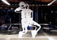 3D 입체 조각품으로 만들어진 '마이클 조던'