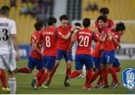 한국 카타르 격파, 권창훈 후반 결승골 작렬…올림픽 본선 진출