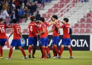 올림픽축구대표팀, 카타르 3-1 격파…일본과 결승전