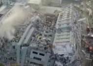 대만 규모 6.4 지진, 17층 아파트가 종잇장처럼…