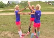 [영상] 올림픽 출전하는 세쌍둥이 자매, 얼굴도 옷도 똑같네…