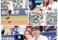 """[단독] """"나도 한국 야구팬"""" 리퍼트 주한미국대사의 한국 야구 사랑"""