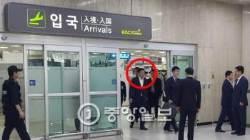 """[속보] 검찰 압수수색 23일 만에 입국한 신동빈 """"신영자 비리는 몰랐던 일"""""""