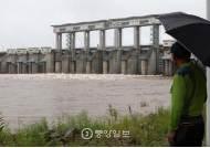 [르포] 북한 황강댐 방류…긴장감 흐르는 군남댐 가보니