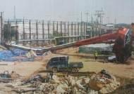 KTX공사현장서 넘어진 크레인 빌미…건설사에 2억4000만원 뜯어내