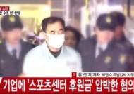 """김종 전 차관 """"최순실 수행비서란 말 어떻게 생각하느냐"""" 에 대답 않고 특검 출석"""