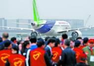 중국 독자 개발 여객기 C919 첫 비행 성공