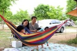[굿모닝 내셔널]아는 사람만 알차게 이용하는 수도권 캠핑 명소 북한강 자라섬 매력은