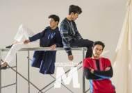 '대립군' 이정재·여진구·김무열, '멋짐 폭발' 매거진M 커버 현장
