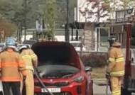 [현장에서] '스팅어에서 연기가?'…엔진룸 흰 연기, 화재 아닌 조작 미숙이 원인