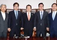 """야3당 국회 파상공세…자유한국당ㆍ바른정당 """"당분간 상임위 보이콧"""""""