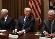 트럼프, 한ㆍ미 정상 첫 만남서 쓰나미 압박