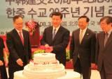 5년 전엔 시진핑 참석, 이번엔 따로 여는 한·중 수교 행사