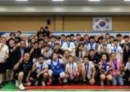 파파존스 서창우 회장, 스페셜올림픽 역도대회 피자 나눔 진행