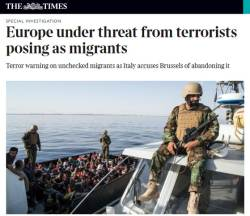 """<!HS>리비아<!HE> 총리 """"유럽 전역, <!HS>난민<!HE>물결로 숨겨진 테러 위험에 노출"""""""