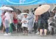 중부는 폭우, 남부는 폭염…원인은 공기 덩어리 '삼국지'