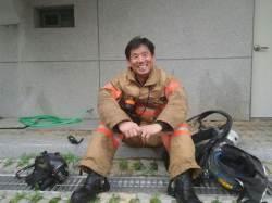 화재 진압 후 묵묵히 장애인 목욕봉사 10년, 라문석 소방관