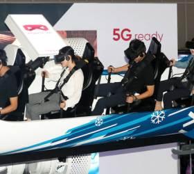'VR 고글' 끼니 나도 올림픽 대표 … 스노보드 타고 점프, 봅슬레이 활강도