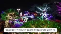 [굿모닝 내셔널]문 대통령 찾았던 대전 뿌리공원, 빛의 향연으로 전국 명소