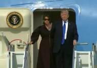 [속보] 트럼프 대통령 한국 도착…오산서 평택으로 이동