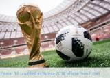 러시아 월드컵 공인구 '텔스타 18' 공개