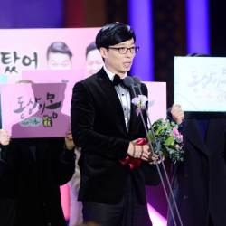 <!HS>유재석<!HE>, 6년 연속 '올해의 개그맨' 1위…2위는?