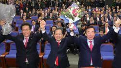 대여 투쟁 전사 택한 한국당, 친박은 와해 수순