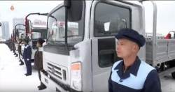 [북한TV속의 삶 이야기]  북한 자력갱생의 본보기 승리자동차연합기업소