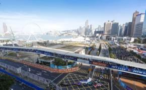 [江南人流]홍콩 빌딩 숲에서 미래 자동차를 만나다