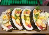 [이택희의 맛따라기] 크기·맛 '깜놀' 호화 김밥…맛집 블로그 1세대의 일식집 '나스'